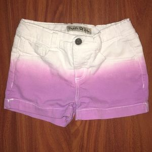 Girls Dip-Dye Shorts